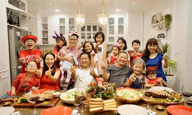 Đón Tết Dương lịch cùng gia đình. Ảnh: Internet
