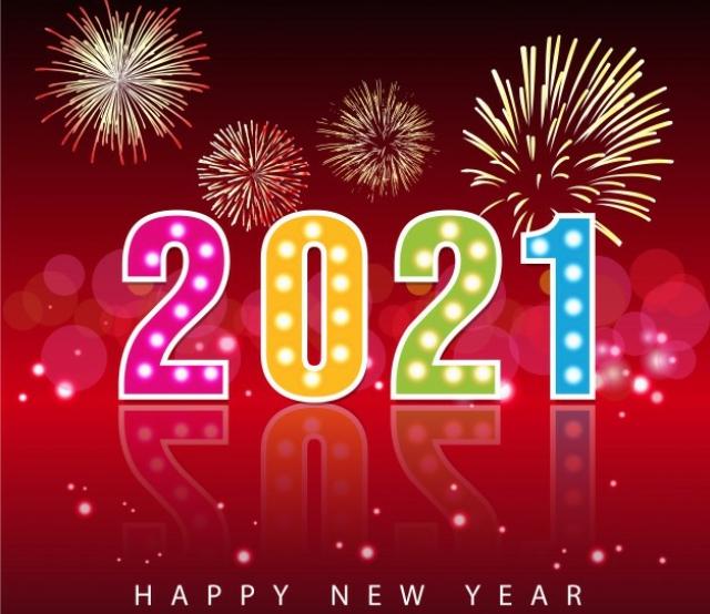 Đón năm mới 2021 đầy may mắn. Ảnh: Internet