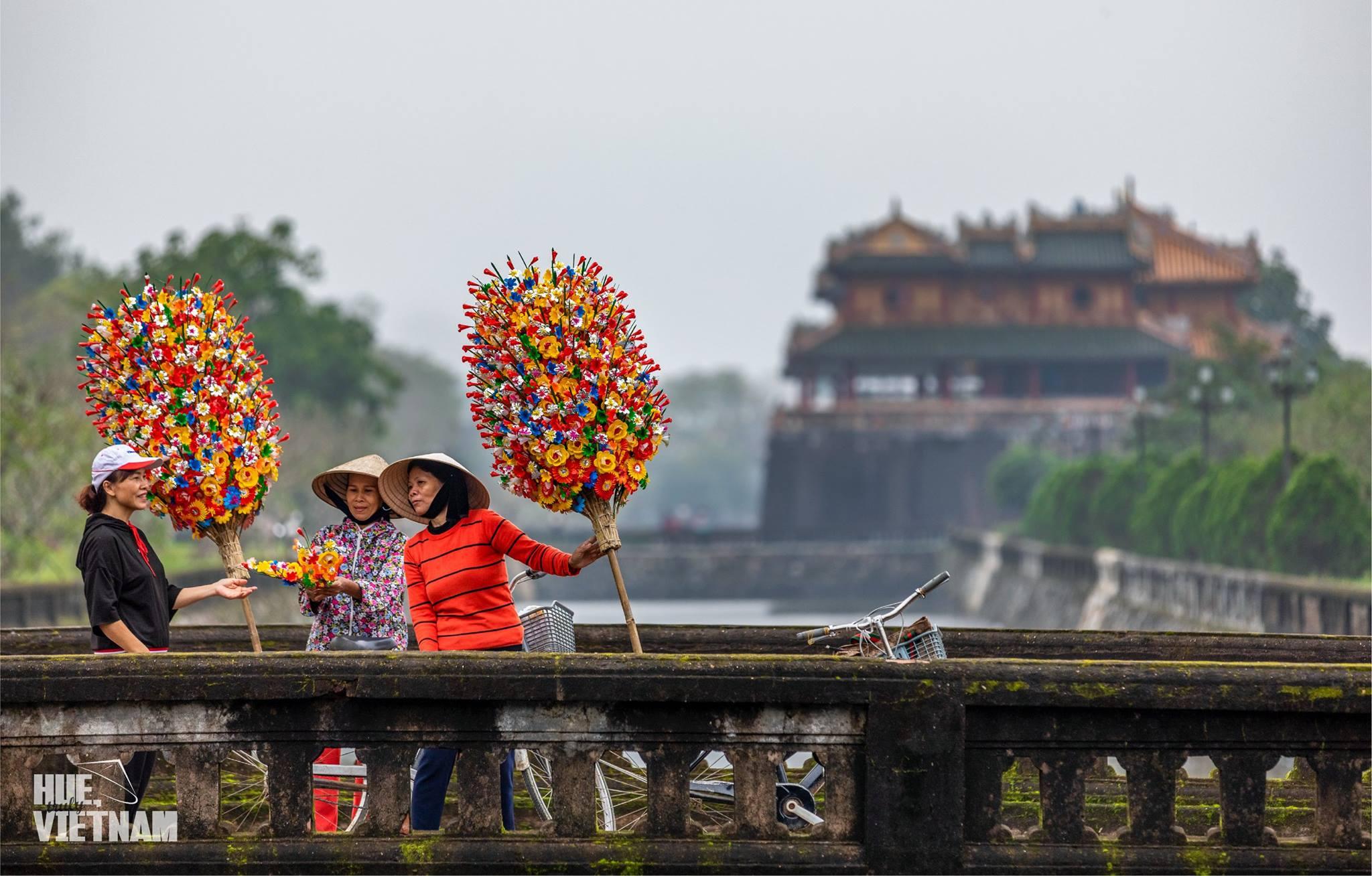 Thời tiết Huế Tết Nguyên đán khá đẹp. Hình: Hue, truly Vietnam