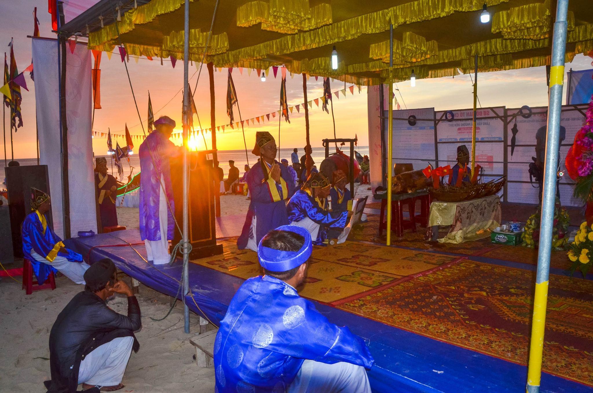 Lễ hội cầu ngư. Hình: Nguyễn Đức Huy
