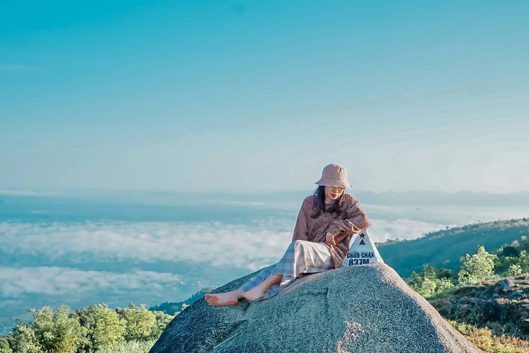 Check-in núi Chứa Chan - Nguồn ảnh: Internet