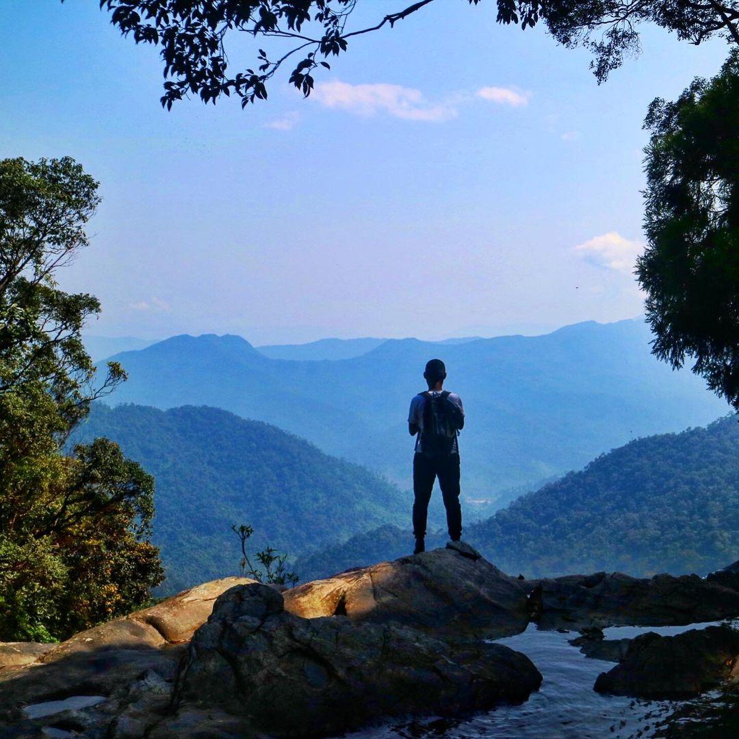 Khung cảnh hùng vĩ ở Bạch Mã. Hình: @thiennguyen1012