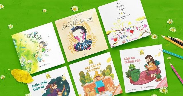 Sách và truyện tranh phù hợp với độ tuổi của bé