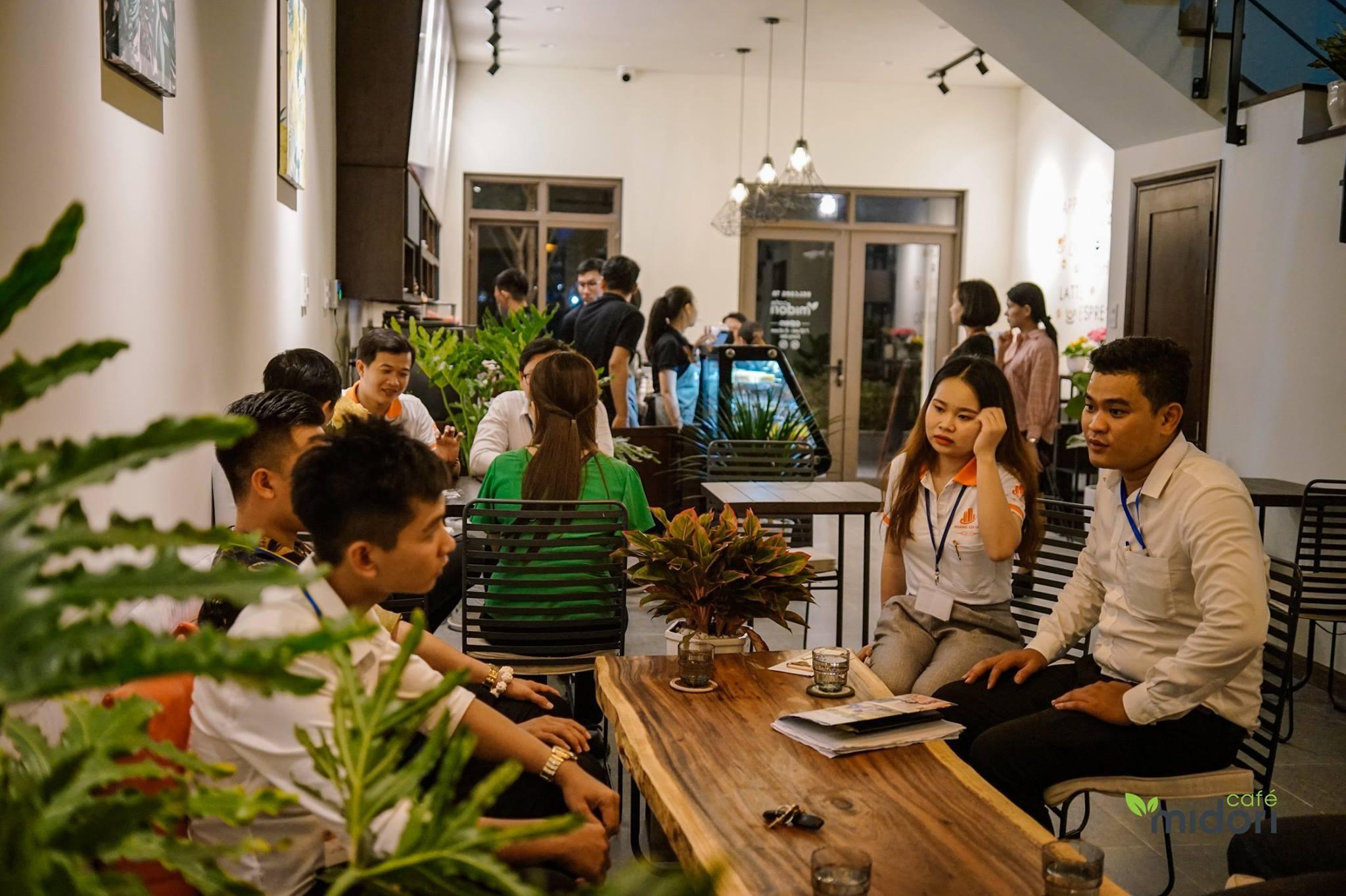 """Midori là nơi được dân """"sành"""" cafe yêu thích tại thành phố mới Bình Dương. Hình: Mdori Cafe"""