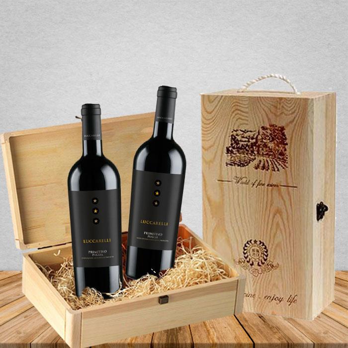 Rượu vang là món quà ý nghĩa, sang trọng ngày tết - Nguồn ảnh: Internet