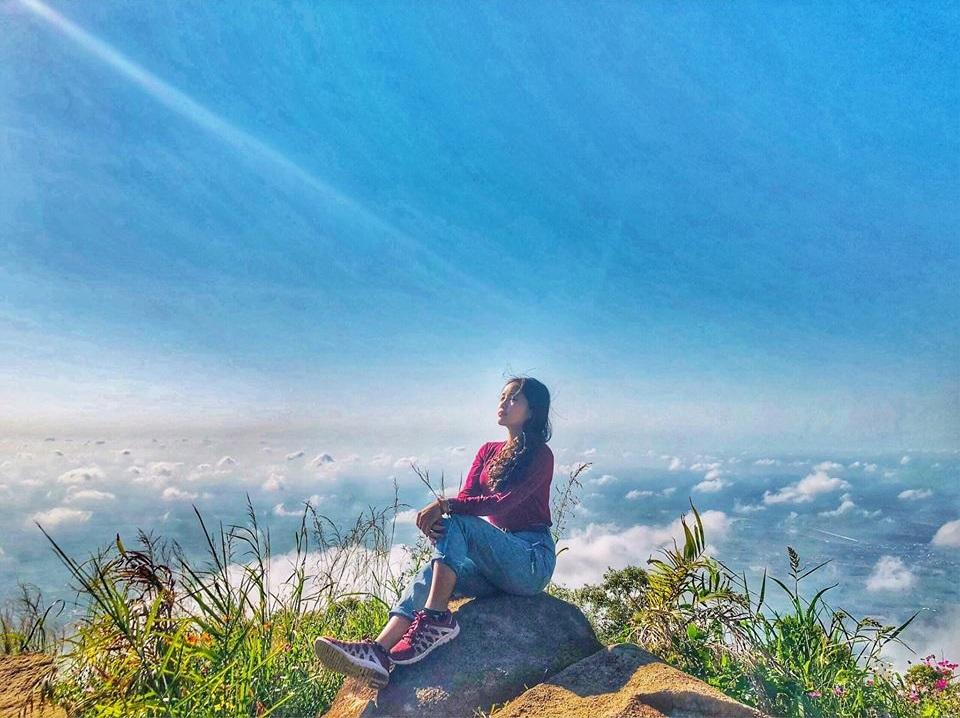 Săn mây cực chất tại núi Bà Đen - Nguồn ảnh: Internet