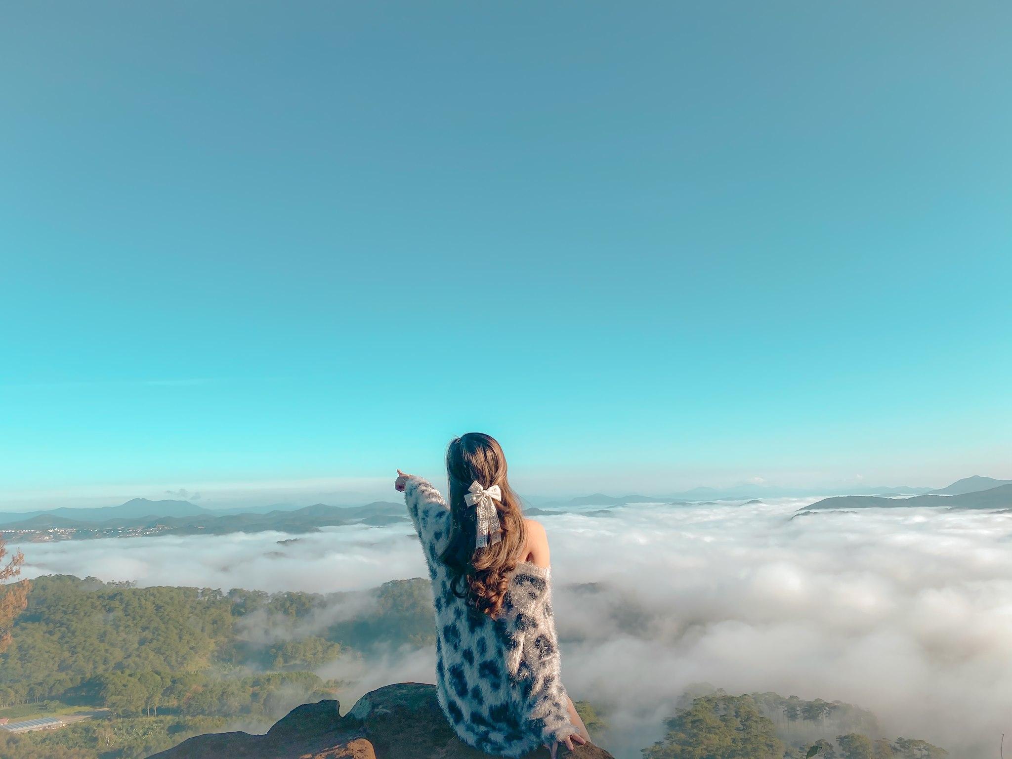 Ngập tràn mây. Hình: Sưu tầm