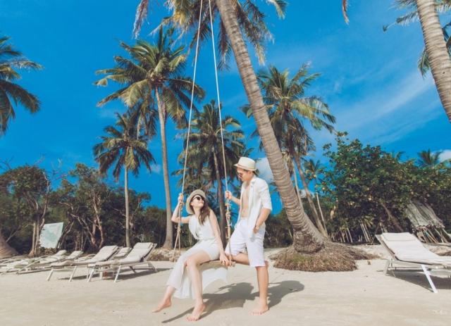 Đảo Phú Quốc xanh ngát, trong lành. Ảnh: Internet