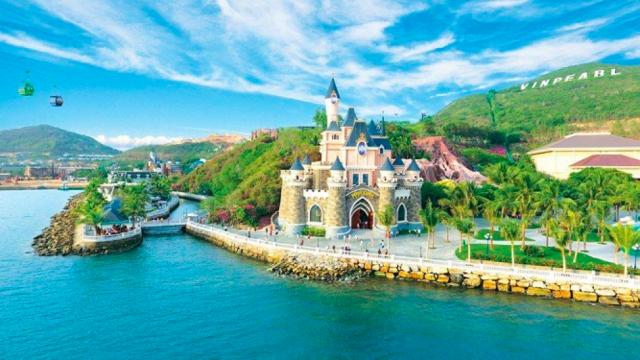 Thành phố biển Nha Trang năng động, hiện đại. Ảnh: Internet