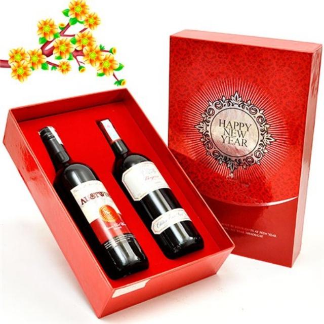 Rượu cũng là món quà Tết tuyệt vời. Ảnh: Internet