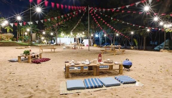Team yêu biển không thể bỏ lỡ trải nghiệm cắm trại vui chơi tại Zenna Pool Camp - Nguồn ảnh: Internet