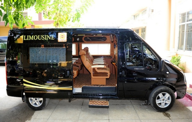 Xe Limousine Hoa Mai đi Vũng Tàu. Ảnh: Internet