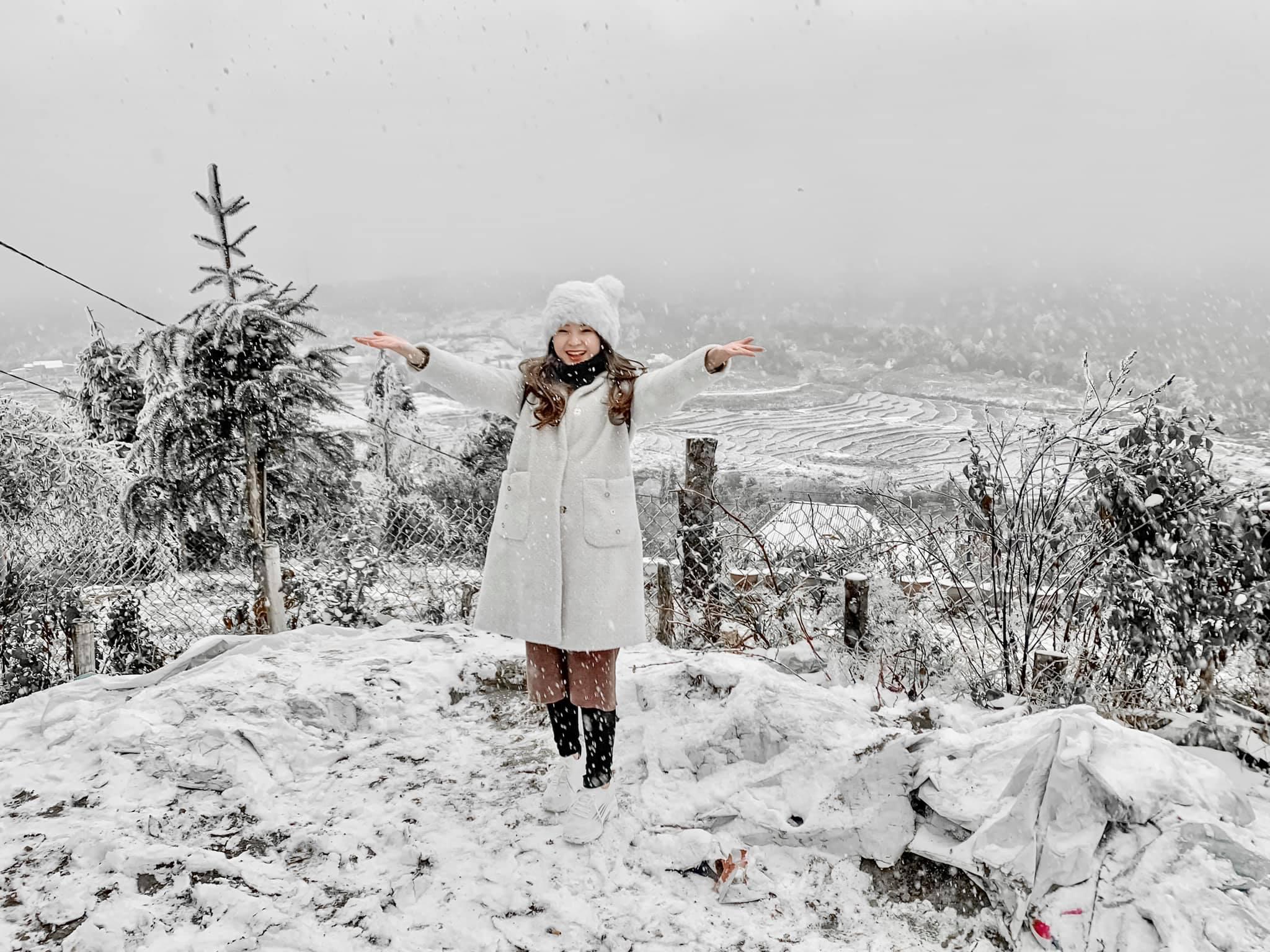 Tranh thủ set kèo lên Sapa ngắm tuyết ngay kẻo lỡ - Nguồn ảnh: Nhím Ruby