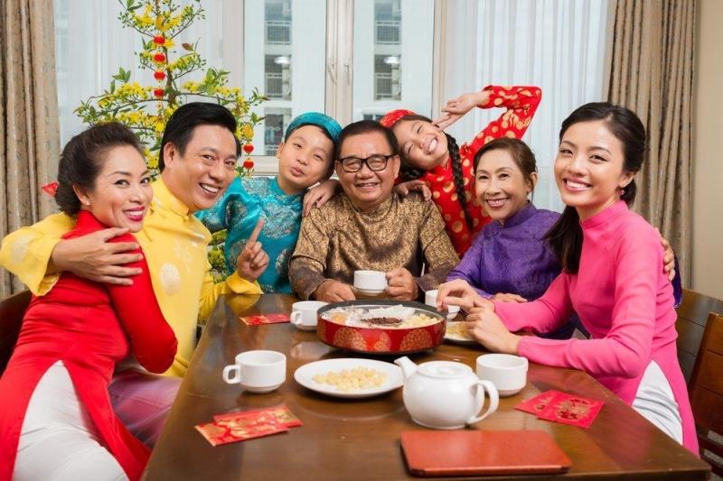 Lời chúc tết năm Tân Sửu dành cho gia đình đầy ý nghĩa - Nguồn ảnh: Internet