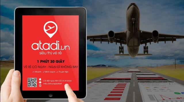 Săn vé máy bay giá rẻ với Atadi nhanh, chính xác, uy tín. Ảnh: Atadi