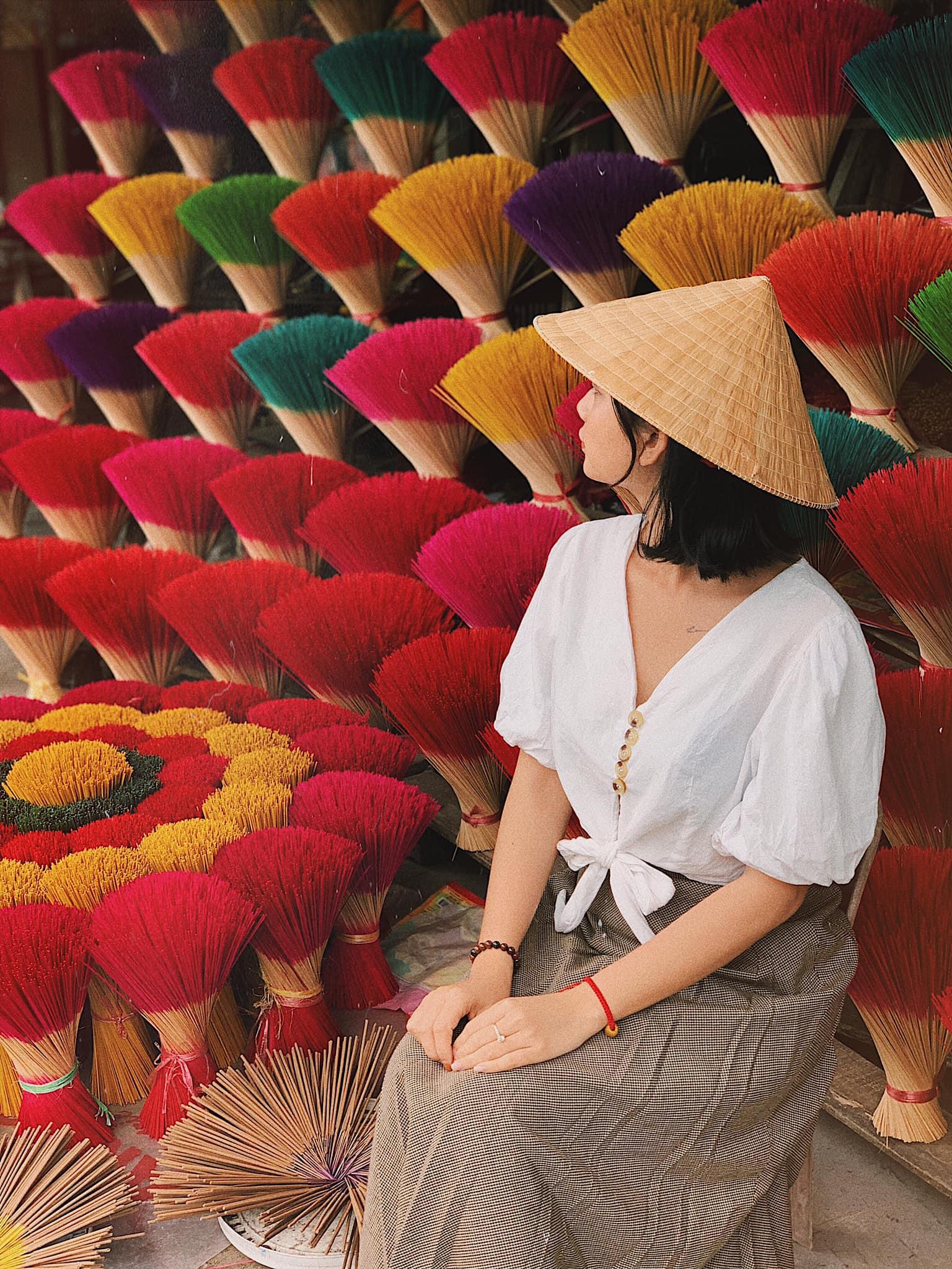 Làng hương Thủy Xuân. Hình: Bùi Huy Khang