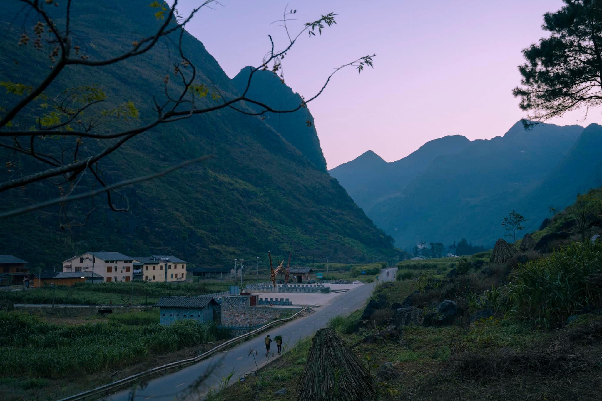 Những con đường tuyệt đẹp của Hà Giang. Hình: Nguyen Thanh Vu