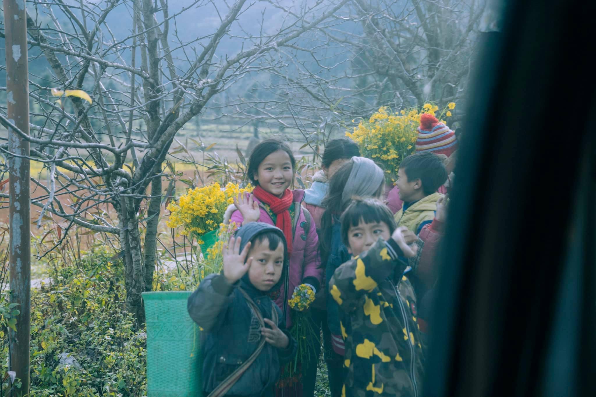 Những đứa trẻ ở Hà Giang. Hình: Nguyen Thanh Vu