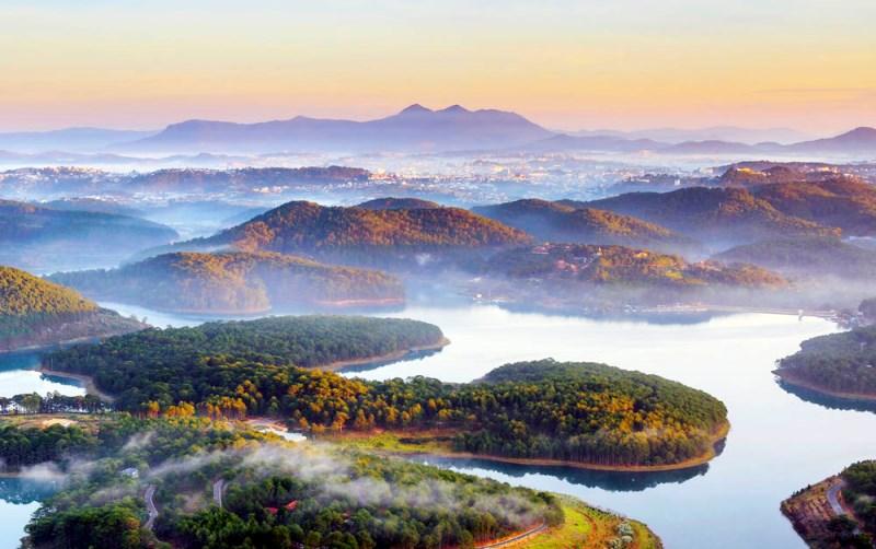 Công bố dự án du lịch cao cấp tại hồ Tuyền Lâm