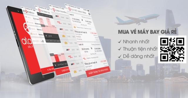 Là trang web mua vé máy bay giá rẻ trong nước & Đông Nam Á. Ảnh: Internet