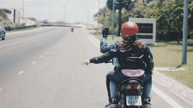 Kinh nghiệm khi đi phượt bằng xe máy đến Vũng Tàu cần nhớ chính là không chở cồng kềnh. Ảnh: Internet