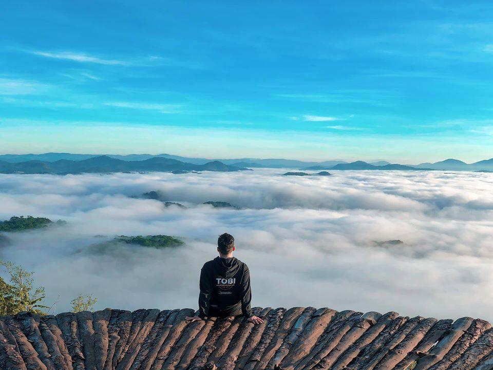 Đà Lạt chìm trong mây. Hình: Sưu tầm