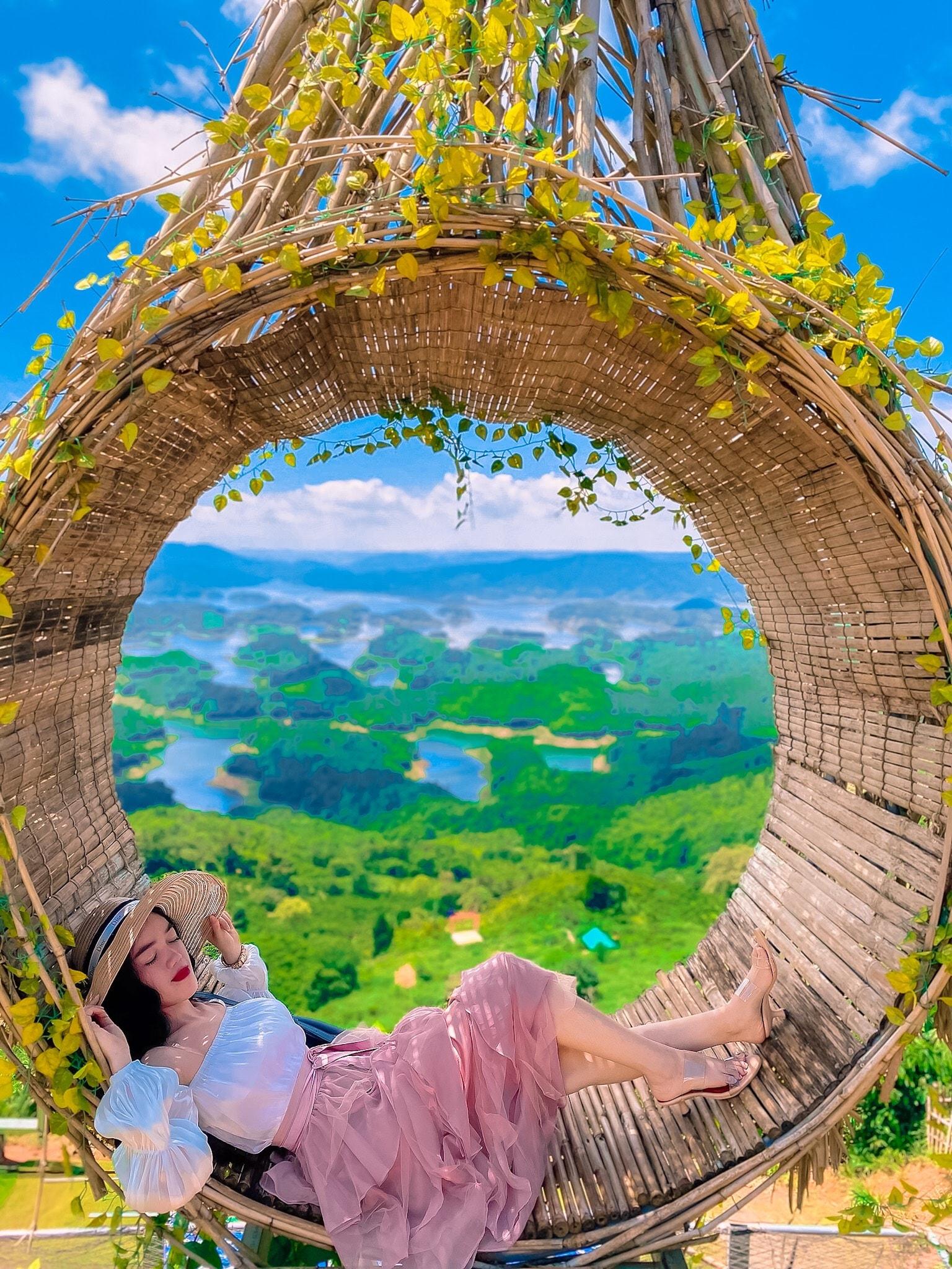 Điểm check-in được yêu thích tại khu du lịch Tà Đùng - Nguồn ảnh: Khu du lịch Tà Đùng