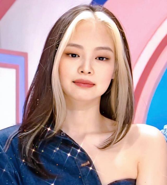 Jennie (BLACKPINK) chính là người mở đầu cho trào lưu nhuộm tóc highlight độc đáo này. Ảnh: Internet