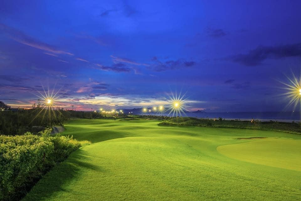 Sân golf ở FLC Quy Nhơn. Hình: Sưu tầm