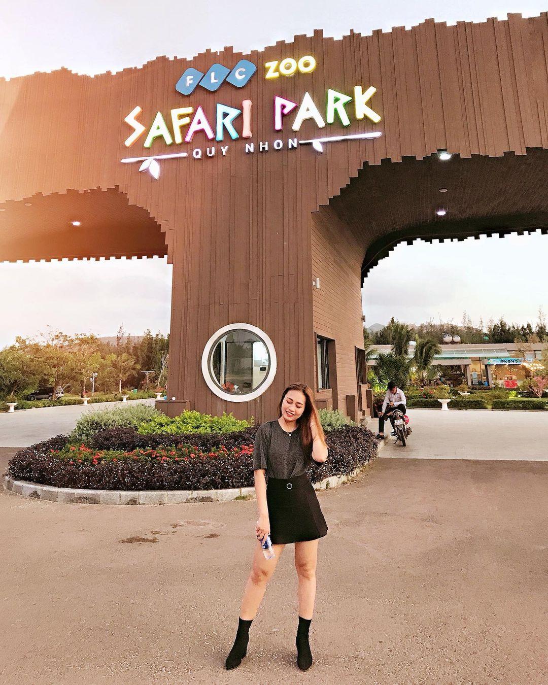 FLC Zoo Safari Park. Hình: @coconut2895