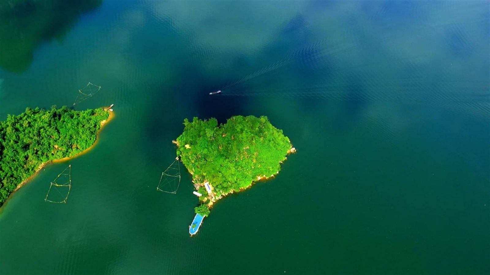 Đảo Trái Tim. Hình: Sưu tầm