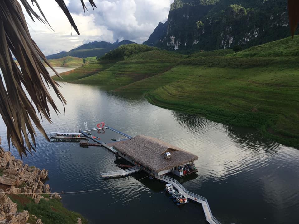 Khu du lịch sinh thái Quỳnh Nhai. Hình: Sưu tầm