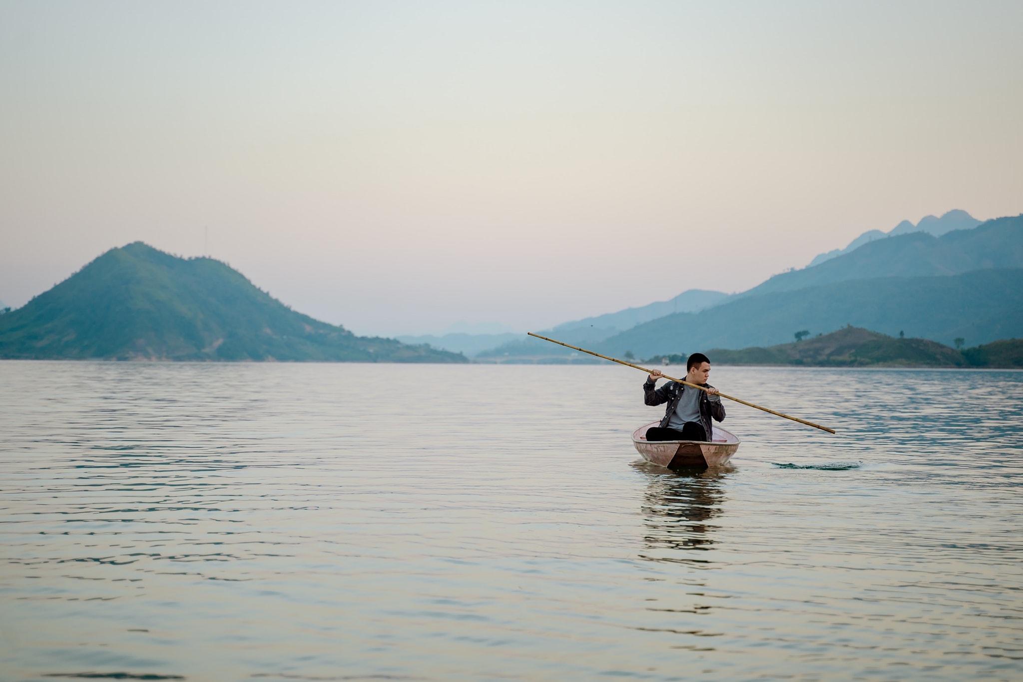 Biển hồ Quỳnh Nhai. Hình: Sưu tầm