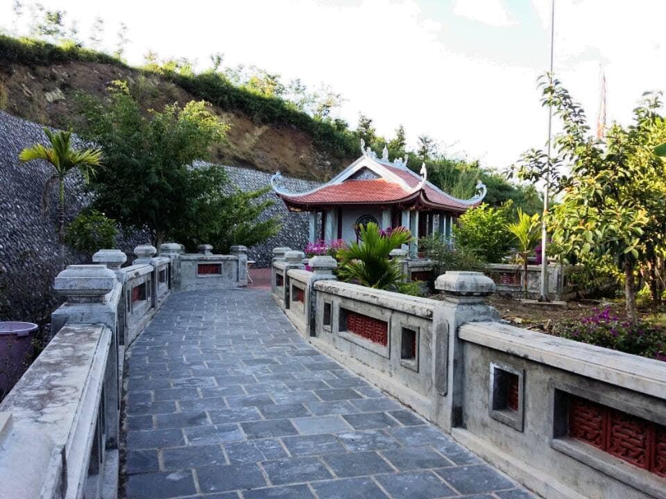 Khu di tích Linh Sơn Thủy Từ - đền Nàng Han. Hình: Sưu tầm
