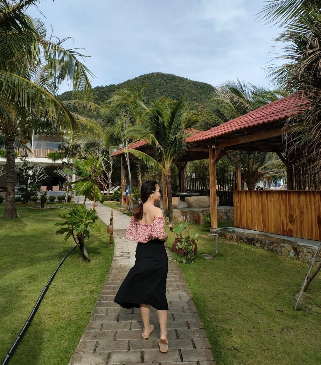 Yêu không gian yên bình thì các khu nghỉ dưỡng ở Rạch Vẹm rất đáng trải nghiệm - Nguồn ảnh: Vương Uyên