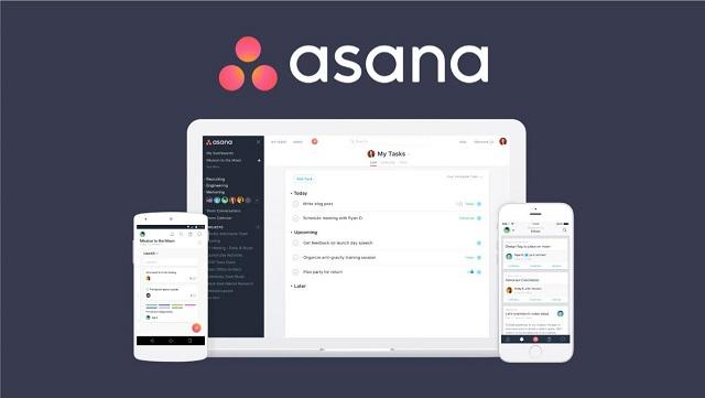 Phần mềm theo dõi công việc Asana