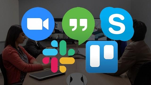 Các phần mềm giao tiếp từ xa giúp việc trao đổi, họp bàn trong doanh nghiệp trở nên dễ dàng hơn