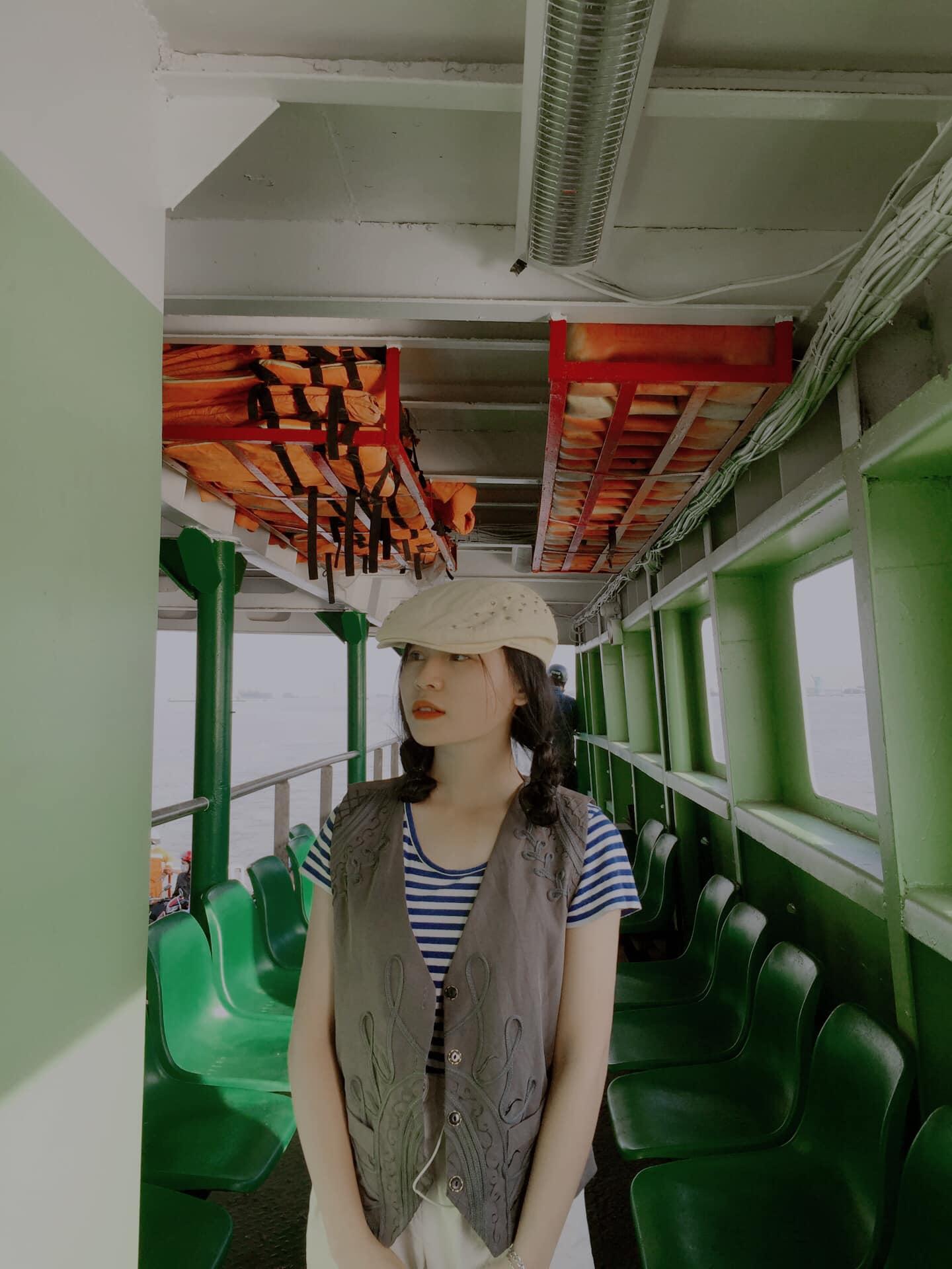 Trở thành hành khách trên phà đến Vũng Tàu để lưu ngay những khoảnh khác tuyệt vời - Nguồn ảnh: Lê Hiếu