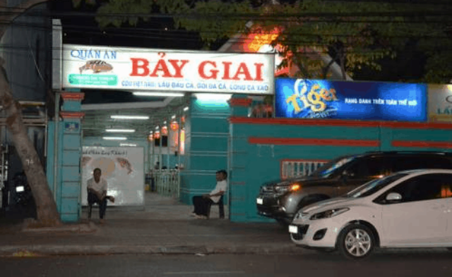 Quán nhậu Bảy Giai lâu đời tại Vũng Tàu. Ảnh: Internet