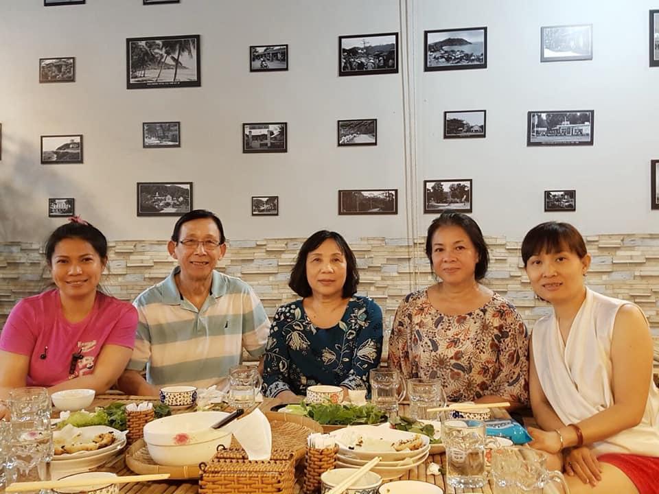 Nhà hàng Hương Vị Xưa. Hình: Sưu tầm