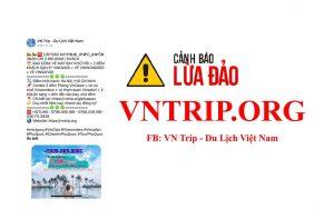 Khẩn cấp: Cảnh báo mạo danh Vntrip để lừa đảo