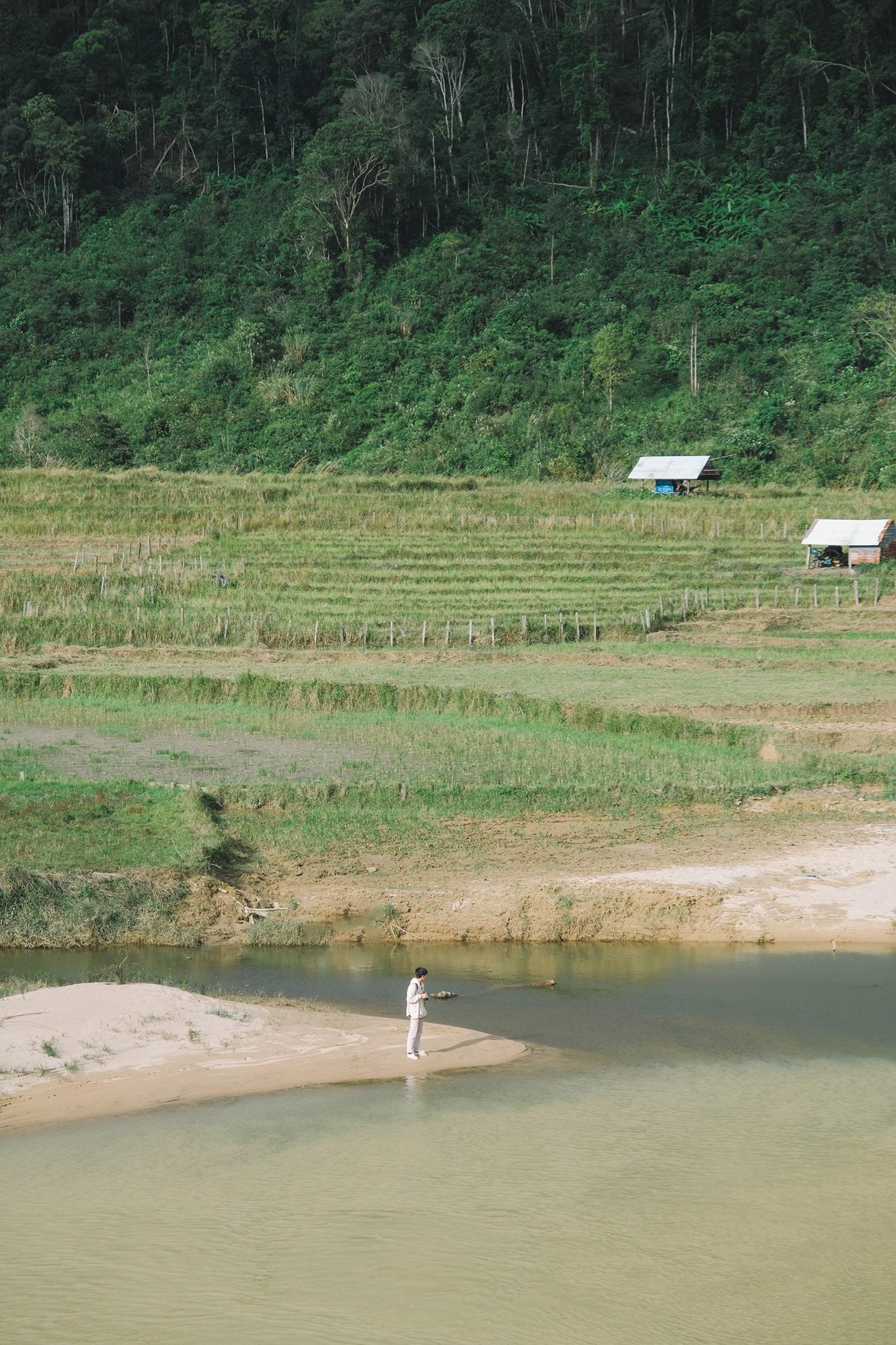 Khung cảnh yên bình của Măng Đen. Hình: Nguyễn Sơn Tùng