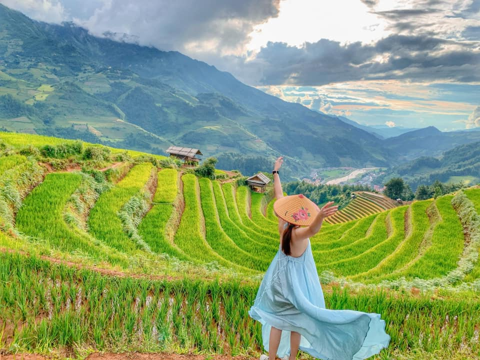 Mù Cang Chải mùa lúa. Hình: Nguyễn Hồng Thu Trang