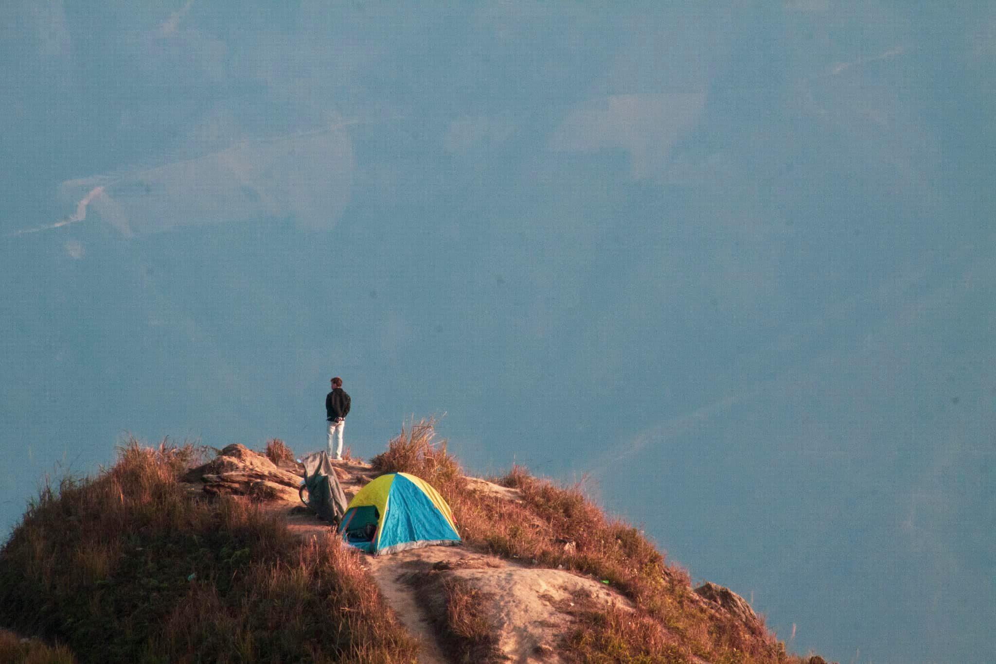 Trải nghiệm cắm trại ở Tà Xùa. Hình: Đỗ Quang Huy