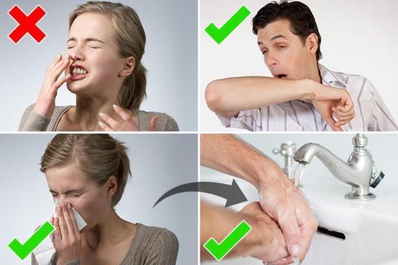 Rửa sạch tay của bạn trước khi chúng có cơ hội lây nhiễm virus sang người khác