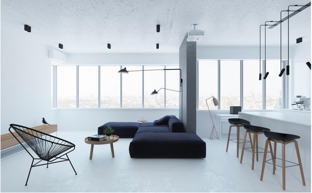 Tạo ra không gian sống tối giản giúp căn phòng trở nên sạch sẽ, đảm bảo không khí thông thoáng và trong lành