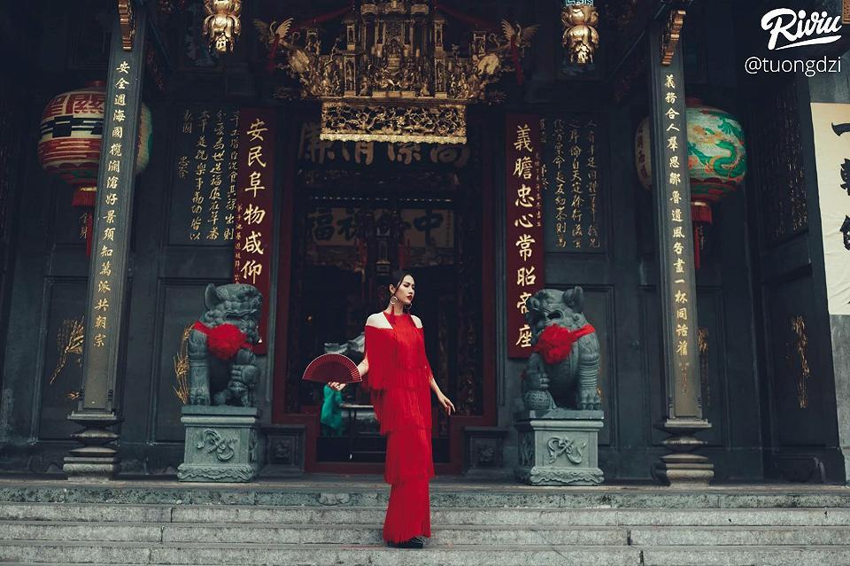 Những bức ảnh chất nhất chụp tại những ngôi chùa nổi tiếng tại Sài Gòn - Nguồn ảnh: @tuongdzi