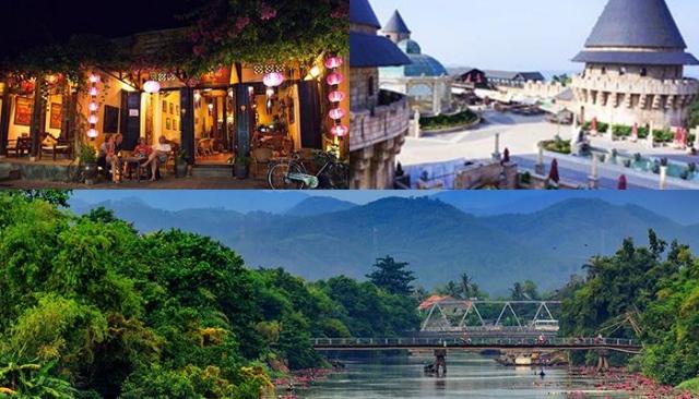 """Đà Nẵng, Hội An, Huế là chuỗi các điểm đến """"ăn khách"""" mỗi dịp hè. Ảnh: Internet"""