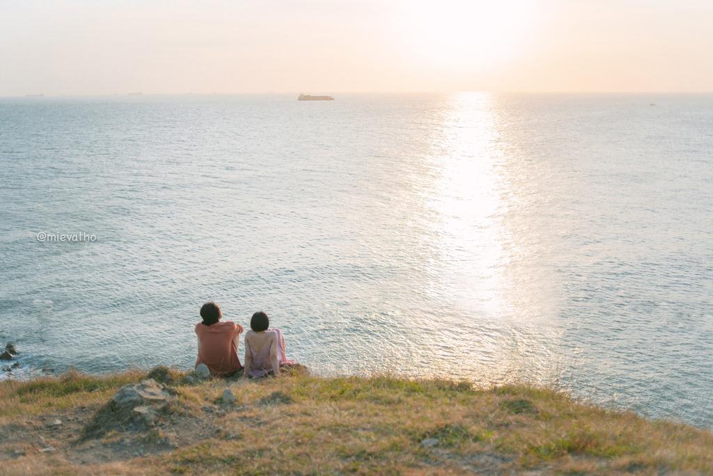 Những bãi biển trong vắt của Vũng Tàu. Hình: Sưu tầm
