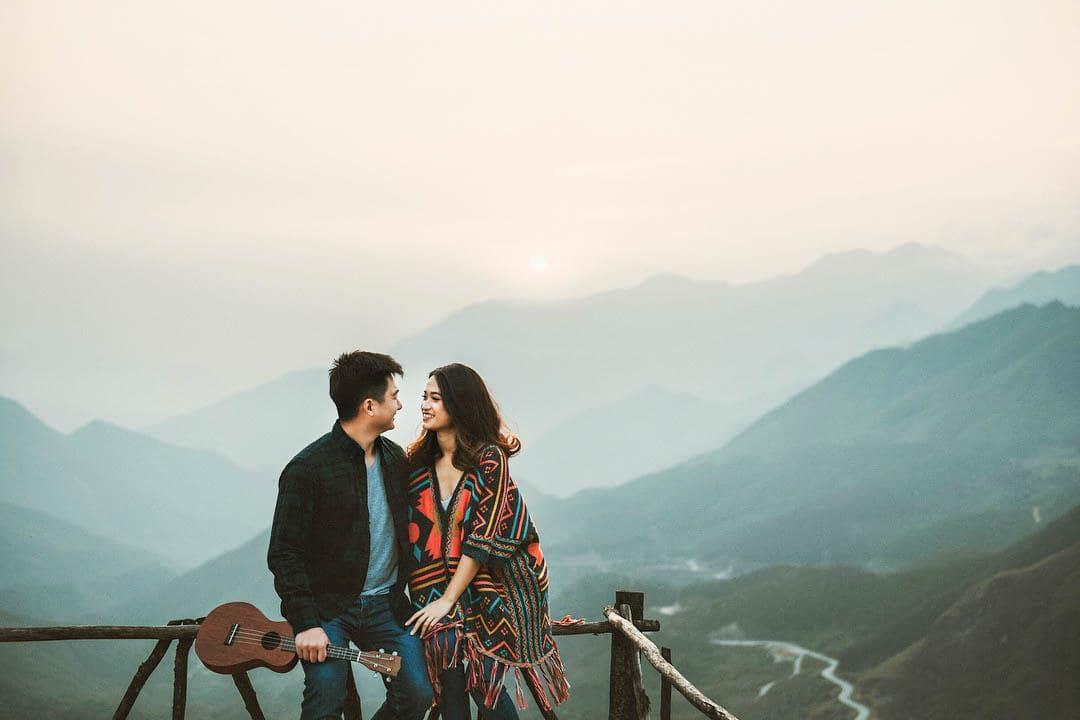 Không khí trong lành khiến Sapa luôn được các cặp đôi yêu thích. Hình: Sưu tầm